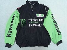 KAWASAKI Monster Energy BRIDGESTONE Nero Verde Giacca