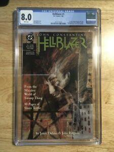 Hellblazer 1 CGC 8.0 (VF) John Constantine! Dave McKean Cover!