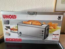 Unold 4 Scheiben Toaster Edelstahl Serie Onyx Neu OVP