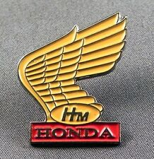 Metal Enamel Pin Badge Brooch Bike Motorbike Wing Logo Hon Tourer
