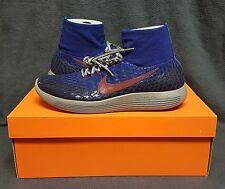 NikeLab Gyakusou LunarEpic Flyknit Shield Men's Running Shoe (Sz 11.5)Blue/Grey