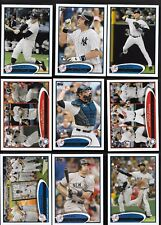 2012 Topps Series 1 & 2 NEW YORK YANKEES Complete 36 Card Team Set Mantle Jeter
