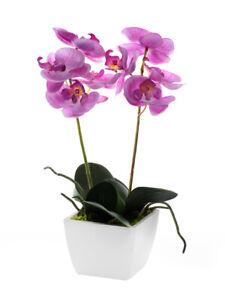 Artificial 33cm Orchid Plants in Pot