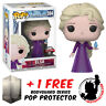 FUNKO POP DISNEY FROZEN 2 ELSA IN NIGHTGOWN WITH CRYSTAL EXCLUSIVE + PROTECTOR