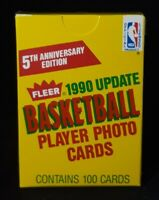 1990-91 Fleer Update Basketball Factory Sealed Complete Set Gary Payton Rookie