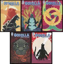 Godzilla Oblivion Comic Full Set 1-2-3-4-5 Lot Kaiju King Ghidorah Mechagodzilla