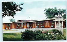 Hardy's Valley View Motel US Route #12 Watertown NY old Vintage Postcard A95