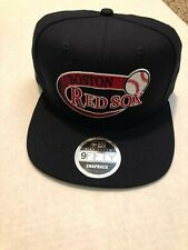 Boston Red Sox New Era 9FIFTY MLB Snapback Hat Cooperstown Retro Swoop 2018