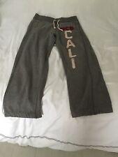 Hollister sudor pantalones gris tamaño XS