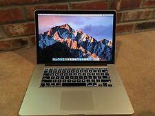 "Apple MacBook Pro Mid 2015 15.4"" Retina, Core i7, 16GB, 256GB Laptop/Apple Care"