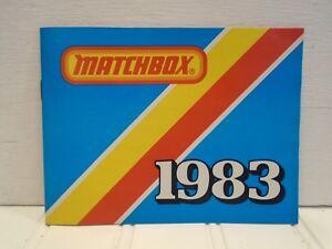 1983 Matchbox Catalog MINT NOS
