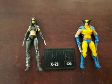 "Marvel Universe X23 Wolverine lot 3.75"""