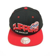 MITCHELL & NESS THE WAVE SNAPBACK LOS ANGELES CLIPPERS BLACK / RED
