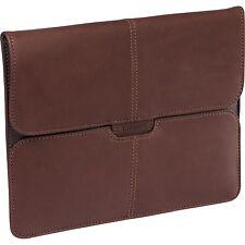 Targus Hughes Premium Brown Leather Portfolio for Apple iPad 1 2 & 3 TES1001US