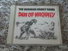 NORMAN HAINES BAND DEN OF INIQUITY RARE OOP CD