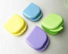 10X Dental Boxe Denture Retainer Mouthguard Boxes Storage Dental Equipment Color