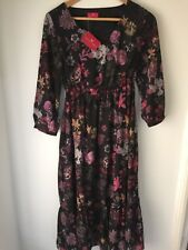 Womens Together @ Kaleidoscope Floral Joules Dress Size 8 Boho |