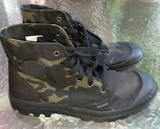 Palladium Boots Camouflage Hiking Boots Mens 11
