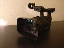 Canon XH-A1 Camcorder - Black - with Rode NTG-2 shotgun mic