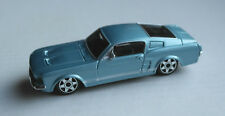 Bburago Ford Mustang GT hellblaumetallic 1:43 Modellauto Auto Klassiker Car blue