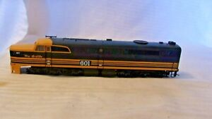 HO Scale Proto PA1 A Unit Diesel Locomotive Rio Grande, D&RGW, Black #601