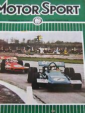 MOTOR SPORT MAGAZINE JUN 1970 MONACO SILVERSTONE WESLAKE CAPRI RELIANT SCIMITAR