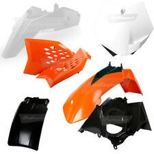 Polisport MX Motocross Bike Plastics Kit - KTM SX65 09-11 OEM