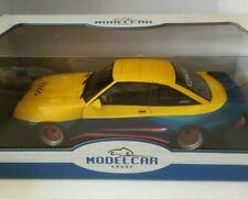 Opel Manta B Mattig gelb / blau 1991 MCG  1:18  Manta Manta