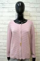 LUISA SPAGNOLI Donna XL Cardigan Maglia in Cashmere Maglione Pullover Sweater
