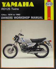 Haynes Manual 0327-Yamaha Rd125 Gemelos (74 - 82) | Edición Limitada de volver a imprimir