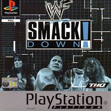 WWF SmackDown Platinum Sony Playstation PS1 Game Excellent Boxed with Manual