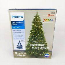 Philips LED Christmas Tree Decorating Lights 210 Lights 8 Motion Effects String