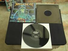 "MEGADETH HOLY WARS PUNISHMENT DUE GATEFOLD SLEEVE 1990 UK PRESS 12"" VINYL RECORD"