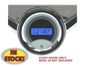 Dakota VLK-55C-K-R -1955-56 Chevy Digital Clock for VHX Gauges Only - Black/Red
