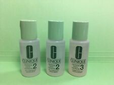2+1 Clinique Clarifying Lotion 2 &lotion 3 1oz 30ml New Travel Size (90ml total)