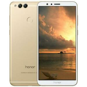 Honor 7X   Gold 128GB , 4GB RAM 5.93inch Hybrid Dual SIM Unlocked Google play