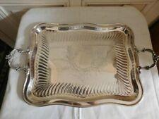 Plateaux arts de la table, cuisine du XXe siècle et récents en métal argenté