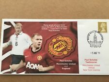Manchester Utd Paul Scholes Testimonial 2011 First Day Cover