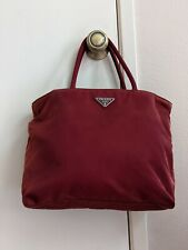 Prada Red Nylon Shoulder Bag