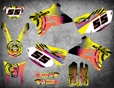Graphics Kit fits Yamaha WR 450 F  2003 2004 NEON STYLE stickers decals