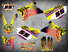 Graphics Kit fits Yamaha WR 250 F  2003 2004 NEON STYLE stickers decals