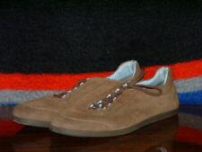 Pre-Owned Men's Brown & Sky Blue World Salvatore Ferragamo Sneakers (Size 12)