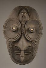 Masque d'esprit papou, art tribal du sépik, kandangai