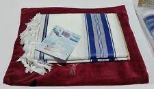 "Tallit +Bag Case Full Size 36x72"" Jewish Prayer Shawl Men Women Talit Tallis #36"