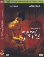 In the Mood for Love (2000) Maggie Cheung / Tony Chiu-Wai Leung DVD NEW *FAST SH