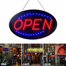Ultra Bright Neon Animated Led Business Sign Open Light for Bar Store Shop Cafes
