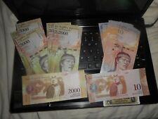 60 pieces VENEZUELA      Currency 20000 10