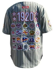 NEGRO LEAGUE BASEBALL COMMEMORATIVE BASEBALL JERSEY NLBM BLACK HISTORY JERSEY