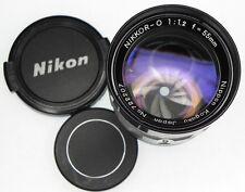 Nikkor-O 55mm f1.2 CRT High Resolution Lens  #722207 .......... Minty