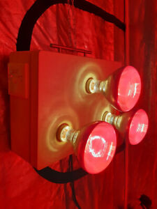 Near Infrared Sauna Light Unit